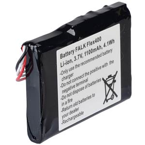GPS navigation battery for Falk Flex, 1100 mAh FREI