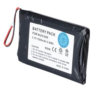 GPS navigation battery for Garmin Nüvi, 1500 mAh FREI