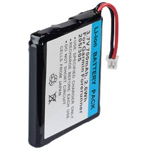 GPS navigation battery for Garmin forerunner, 700 mAh FREI