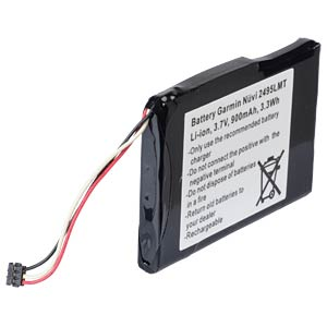 GPS navigation battery for Garmin Nüvi, 900 mAh FREI