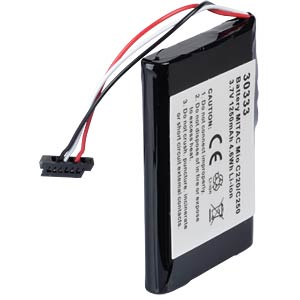 GPS navigation battery for Medion GoPal, 1250 mAh FREI