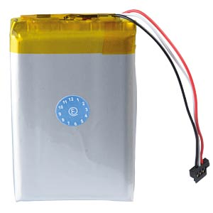 GPS navigation battery for Navigon 70 Easy, 1200 mAh FREI