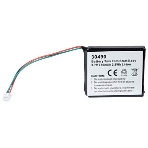 GPS navigation battery for TomTom Easy, 770 mAh FREI