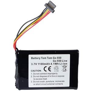 GPS Navigations-Akku für TomTom Go550, 1100 mAh FREI