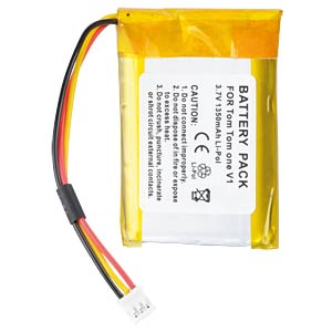 GPS navigation battery for TomTom One, 1350 mAh FREI