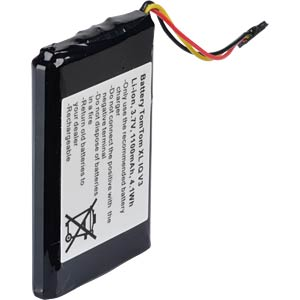 GPS navigation battery for TomTom XL IQ, 1100 mAh FREI