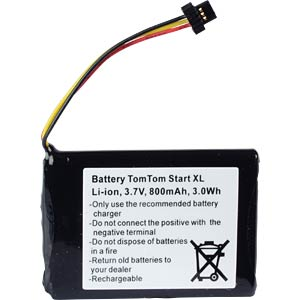 GPS navigation battery for TomTom Start XL, 800 mAh FREI