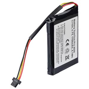 GPS navigation battery for TomTom 340S, 1100 mAh FREI