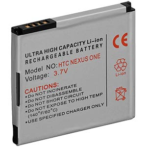 1400 mAh, Li-ion, for HTC Desire FREI