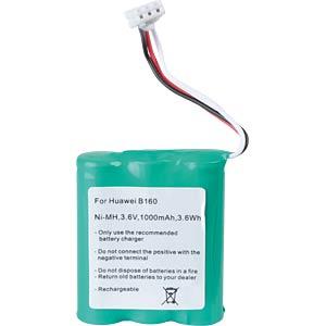 1000 mAh, Li-Ion for HUAWEI B160 FREI