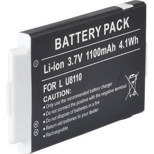 Ersatzakku, LG 8380, Li-ion, 1100 mAh FREI