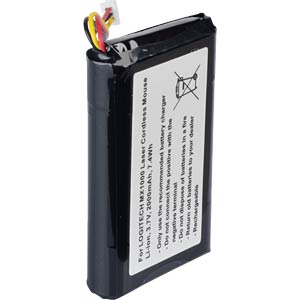 2000 mAh, Li-Ion for LOGITECH MX1000 FREI