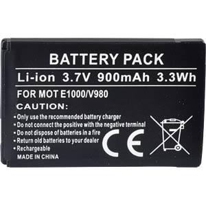 900 mAh, Li-Ion for MOTOROLA A1200 FREI