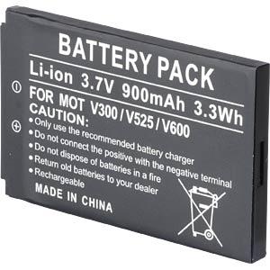 900 mAh, Li-Ion for MOTOROLA A630 FREI