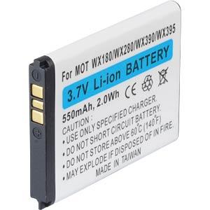 550 mAh, Li-Ion für MOTOROLA EX210 FREI