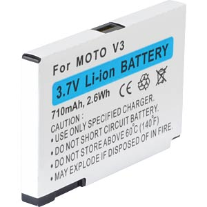 710 mAh, Li-Ion for MOTOROLA RAZR V3 FREI