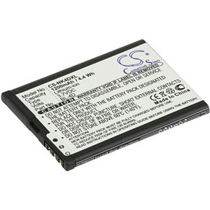 1200 mAh, Li-ion, for Nokia N97mini/E5/N8/E7 FREI