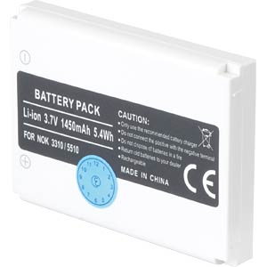 1450 mAh, Li-Ion for NOKIA 3310 FREI