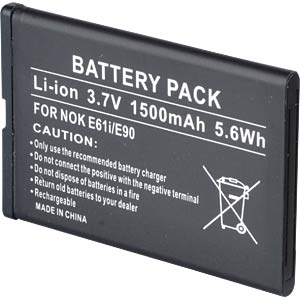 1500 mAh, Li-Ion for NOKIA 6650 FREI