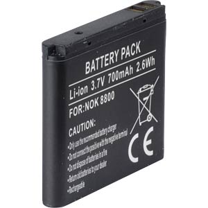 700 mAh, Li-Ion for NOKIA 8800 FREI