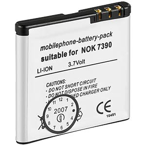 900 mAh, Li-ion for NOKIA 5700 FREI
