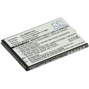 1500 mAh, Li-ion, for Samsung GT-18910/17680/18320/18520 FREI
