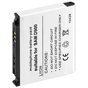 850 mAh, Li-Ion für SAMSUNG SGH-D900 FREI