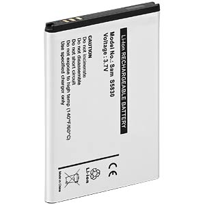 1300 mAh, Li-Ion for SAMSUNG Galaxy Ace FREI