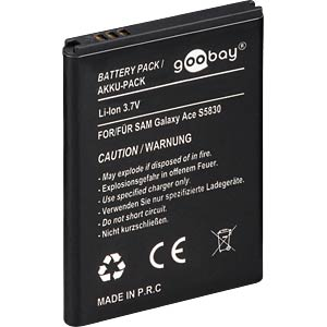 950 mAh, Li-Ion for SAMSUNG Galaxy Ace FREI