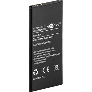 3220 mAh, Li-Ion for SAMSUNG Galaxy Note 4 FREI