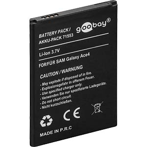 1500 mAh, Li-Ion for SAMSUNG Galaxy Ace 4 FREI
