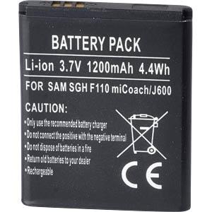 Ersatzakku für Samsung, B3210 Corby TXT, Li-Ion, 1200 mAh FREI