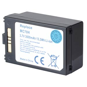 3600 mAh, Li-Ion for SYMBOL MC 70 FREI