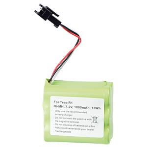 1800 mAh, NiMH for TEAC R1 FREI