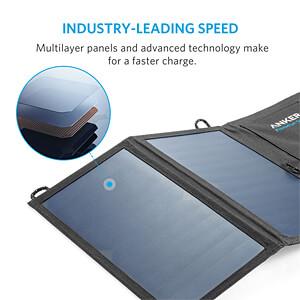 USB-Ladegerät PowerPort Solar, 5 V, 2100 mA, mit Solarzelle ANKER AK-A2422011