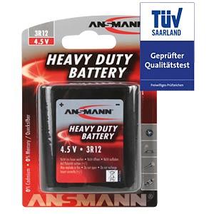 ANSMANN zinc-carbon battery, 4.5V, 3R12A ANSMANN 5013091
