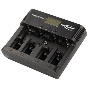 Tischladegerät, prozessorgesteuert, NiCd, NiMh, 9V-Block, USB ANSMANN 1001-0018