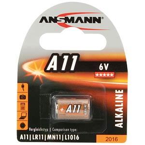Alkaline Batterie, A11, 1er-Pack ANSMANN 1510-0007