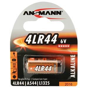 Alkaline Batterie, 4LR44, 1er-Pack ANSMANN 1510-0009