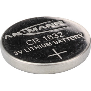 Lithiumknoopcelbatterij, 3V, 120 mAh, 16,0 x 3,2 mm ANSMANN 1516-0004