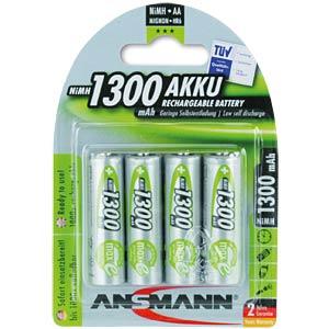 Ansmann Mignon-Akkus 4x1300 mAh maxE ANSMANN 5030792