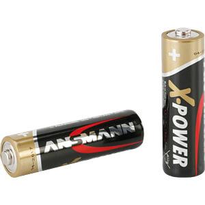 XPOWER, Alkaline Batterie, AA (Mignon), 4er-Pack ANSMANN 5015663