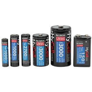 HyCell, NiMh Akku, D (Mono), 3000 mAh, 2er-Pack ANSMANN 5035312