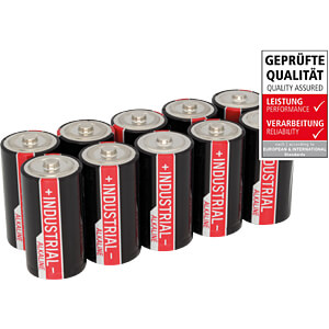 Pack of 10 industrial batteries, C alkaline ANSMANN 1503-0000