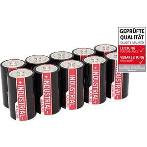 Industrial, Alkaline Batterie, D (Mono), 10er-Pack ANSMANN 1504-0000