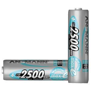 ANSMANN maxE batteries, 4x AA, 2500 mAh ANSMANN 5035442