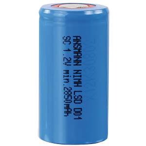 Ansmann maxE NiMH, 1.2 V, Sub-C, 3000 mAh ANSMANN 2310-3004