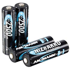 ANSMANN nickel-zinc batteries, 4x AA ANSMANN 1322-0005