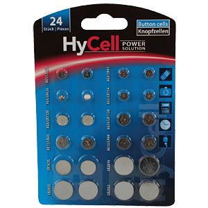Button cell set, 24-piece, lithium/alkaline ANSMANN 1516-0003