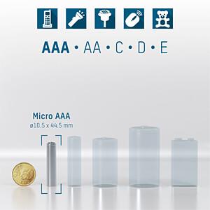 Industrial, Alkaline Batterie, AAA (Micro), 10er-Pack ANSMANN 1501-0009